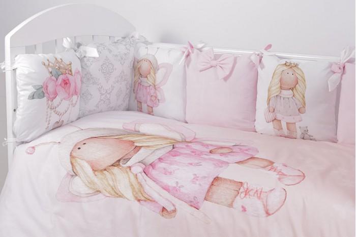 Комплекты в кроватку Топотушки Принцесса Фей (6 предметов) чемодан wenger zurich ii цвет черный 48 см x 30 см x 72 см 104 л