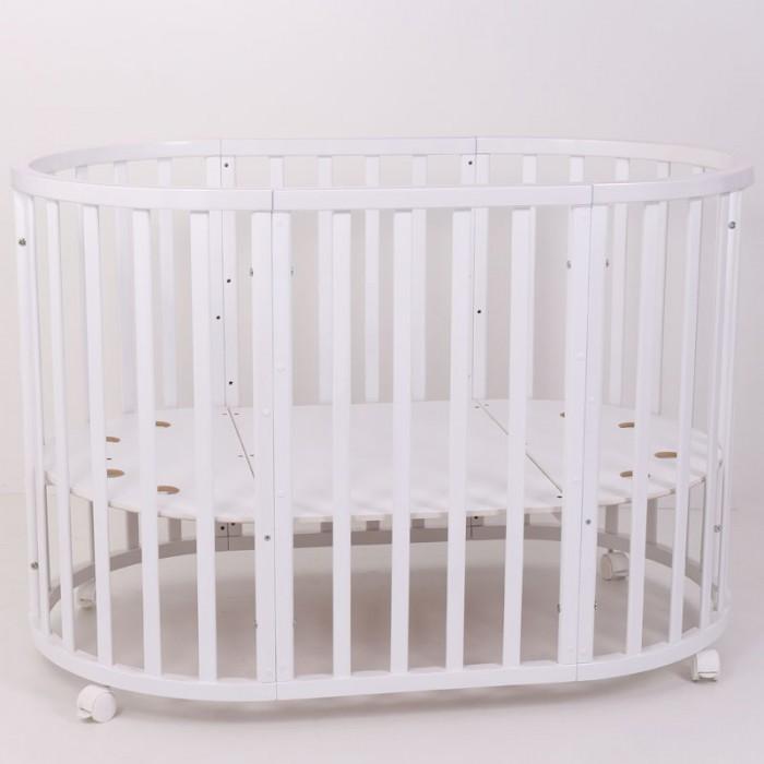 Детская кроватка Топотушки Селена овальная