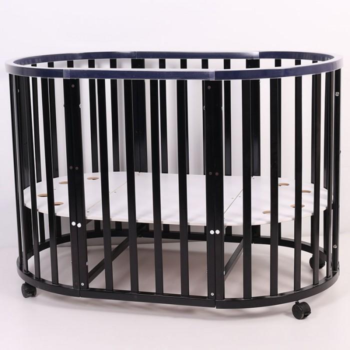 Детские кроватки Топотушки Селена овальная