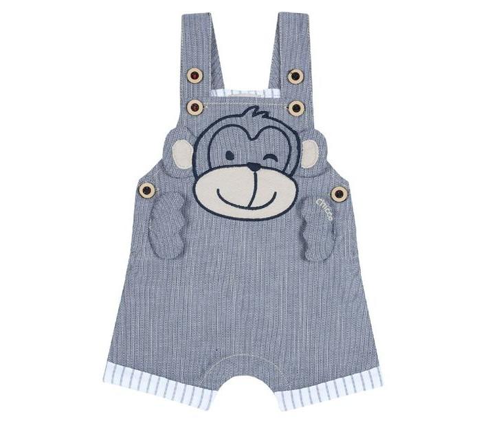 Chicco Полукомбинезон для мальчиков с обезьянкой 09045445 фото