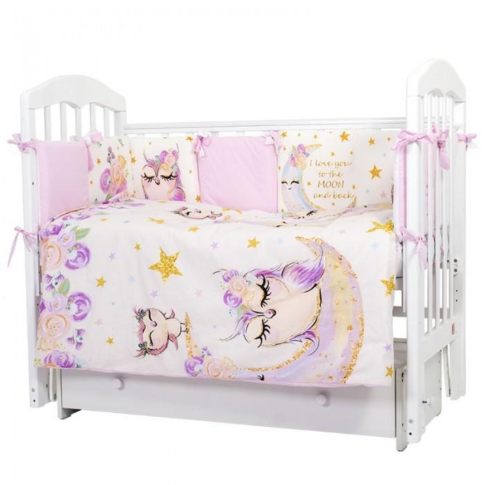 комплекты в кроватку bytwinz слоники 6 предметов Комплекты в кроватку Топотушки Соня (6 предметов)