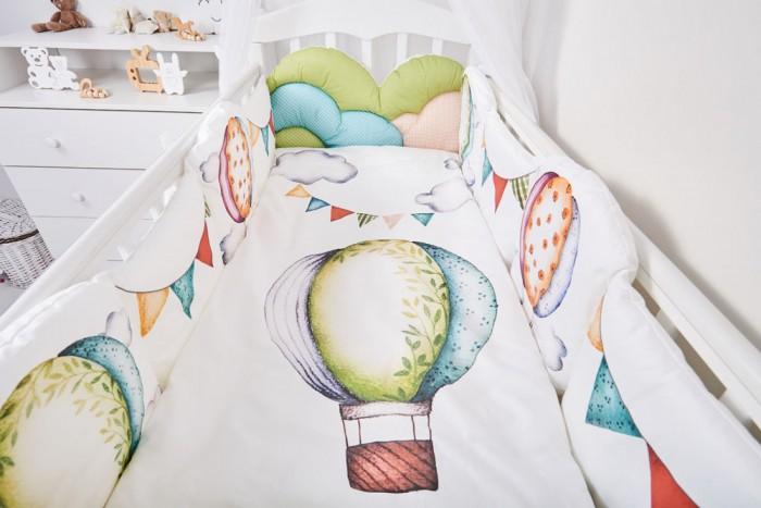 Комплекты в кроватку Топотушки Воздушные шары (6 предметов) чемодан wenger zurich ii цвет черный 48 см x 30 см x 72 см 104 л