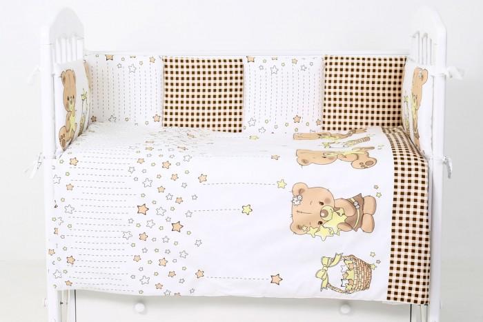 Купить Комплекты в кроватку, Комплект в кроватку Топотушки Звездочеты (6 предметов)