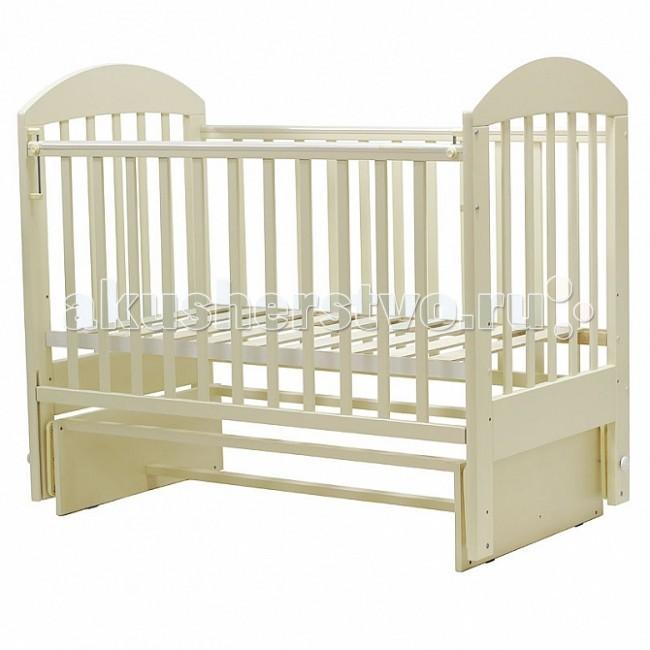 Детская мебель , Детские кроватки Топотушки Дарина-5 (поперечный маятник) арт: 73105 -  Детские кроватки