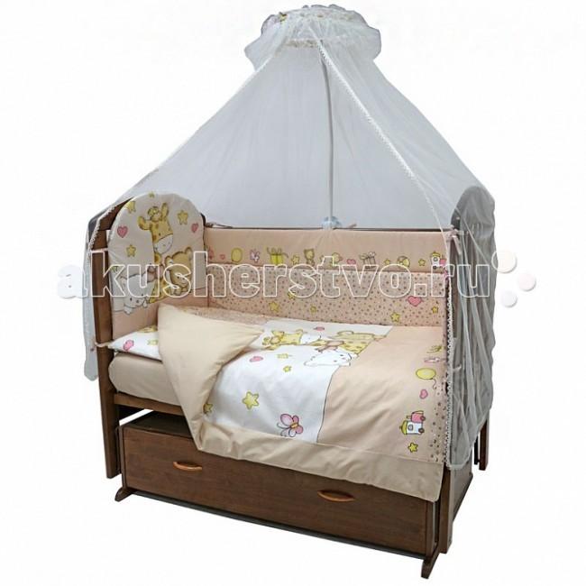 Комплекты в кроватку Топотушки Детский Мир (7 предметов) топотушки дружок 7 предметов 730м 3 желтый