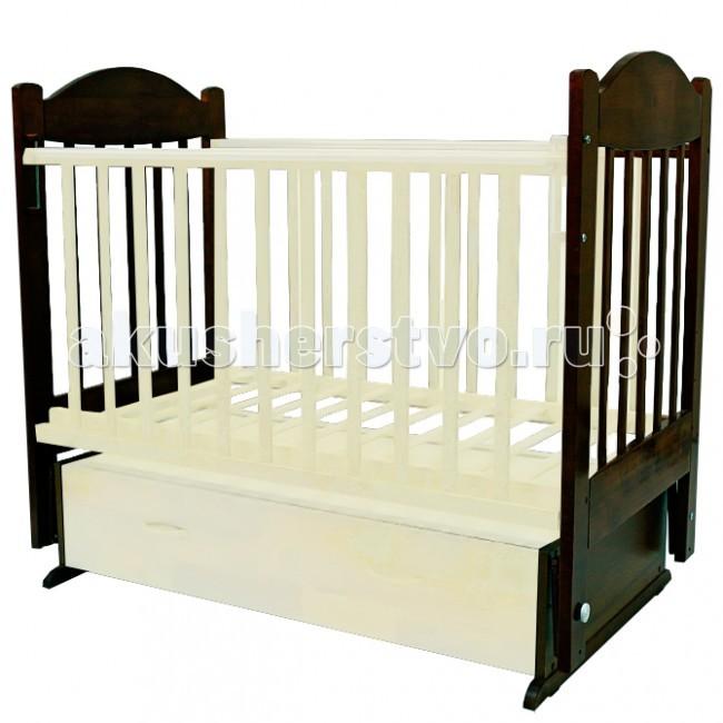Детская кроватка Топотушки Ева-6 (поперечный маятник)