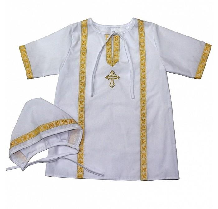 Крестильная одежда Топотушки Крестильный набор р.92-96 К 2.2М
