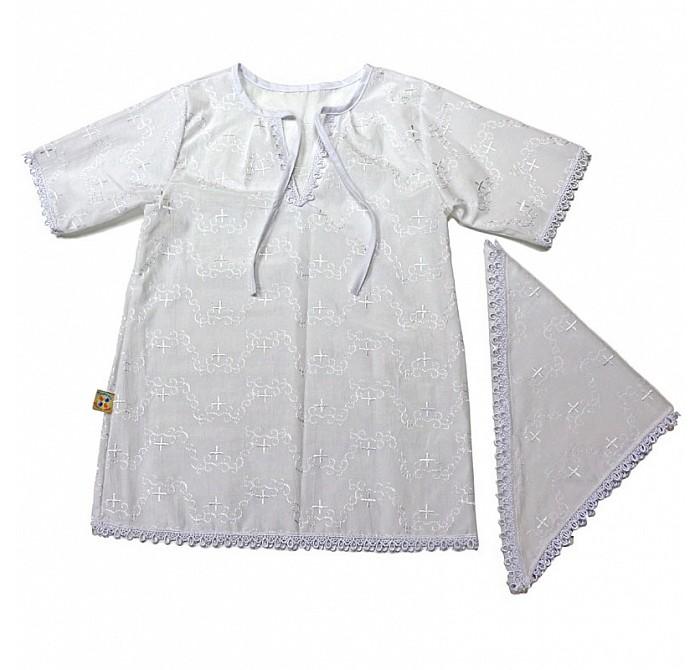 Крестильная одежда Топотушки Крестильный набор К 2.4Д крестильная одежда арго уголок с оборочкой 009 2н