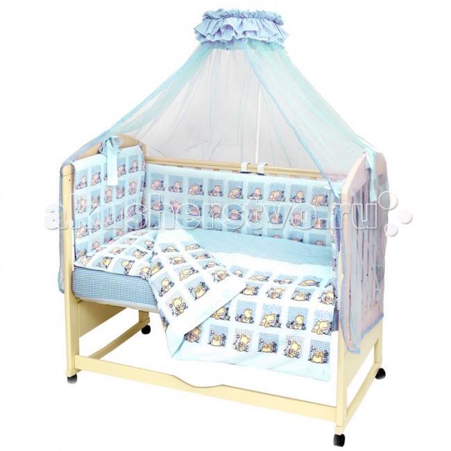 Комплекты в кроватку Топотушки Мишутка (7 предметов) комплекты в кроватку топотушки 12 месяцев 6 предметов