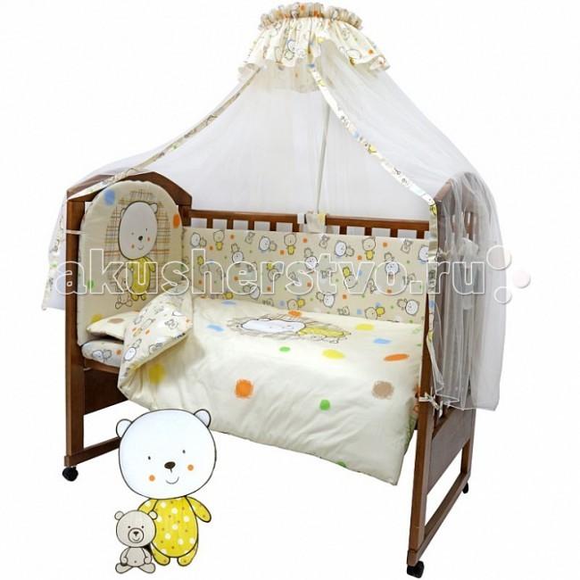 Постельное белье Топотушки Мой Медвежонок (3 предмета) комплект в кроватку топотушки мой медвежонок 7 пр сиреневый