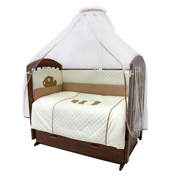 Постельные принадлежности , Комплекты в кроватку Топотушки Пушистик (7 предметов) арт: 63938 -  Комплекты в кроватку