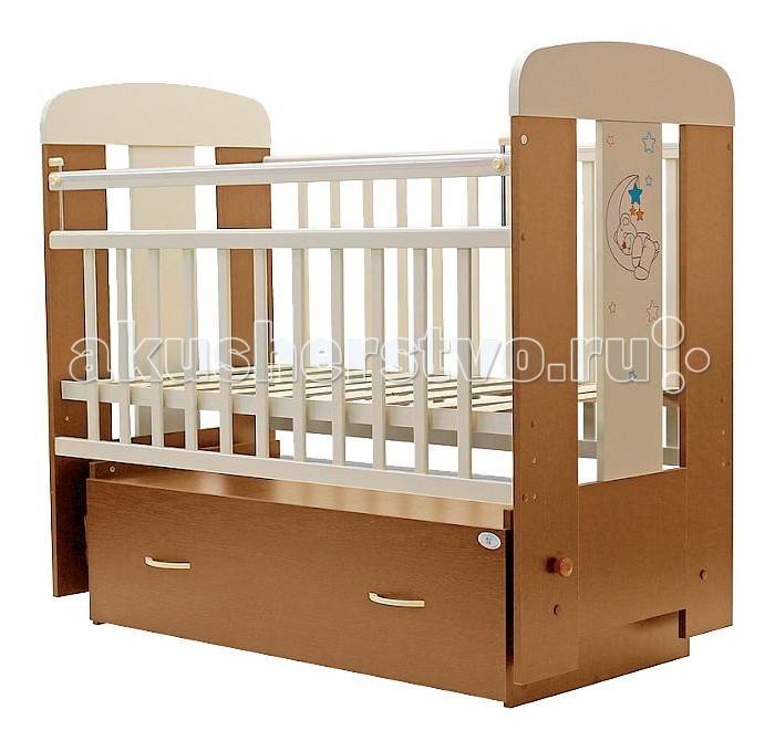 Детские кроватки Топотушки Верона поперечный маятник