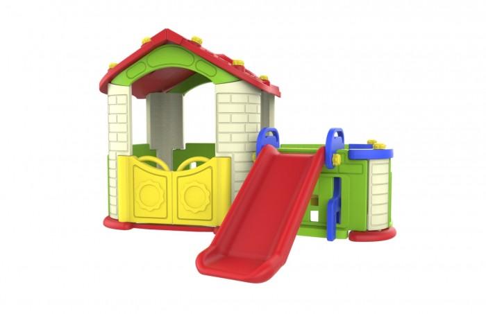 Купить Игровые домики, Toy Monarch Игровой домик с забором и горкой
