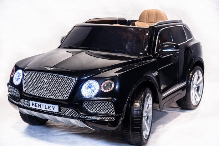 Электромобиль Toyland Bentley BentaygaBentley BentaygaToyland Bentley Bentayga - этот стильный и модный внедорожник сможет стать верным другом вашего ребенка. Машина максимально приближена к реальной не только благодаря внешнему сходству, но и непревзойденному качеству. Все элементы тщательно подобраны и проработаны, кроме того, большое внимание было уделено внешнему покрытию.  Особенности: большие полностью резиновые колеса EVA, максимальная нагрузка 35 кг 2 аккумулятора 6V/7Ah, два двигателя: 2x35W, привод на два задних колеса амортизаторы на задних колесах для плавности хода максимальная скорость 7 км/ч,  2 скорости вперед, одна скорость движения назад (переключение скоростей - с пульта ДУ, на приборной панеле и плавный набор скорости с помощью педали) заводится с кнопки открывающиеся двери, кожаное сиденье с ремнем безопасности удобный руль  (кнопка клаксона и звук мотора на руле активируется при помощи двух батареек), музыкальные эффекты на приборной панеле разъем для подключения MP3, вход для карты SD, вход для USB, встроенный FM-радиоприемник светодиодные огни фар, свет фонарей В комплекте:  аккумулятор зарядное устройство пульт дистанционного управления (работает по bluetooth, радиус действия до 30 метров)<br>
