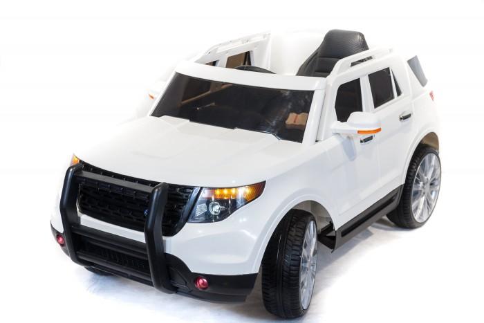 Электромобиль Toyland FE CH9936FE CH9936Электромобиль Toyland FE CH9936 для детей от 1 года до 8 лет.  полностью резиновые колеса EVA, максимальная нагрузка 35 кг. аккумулятор 12V/7Ah, два двигателя: 2x35W, привод на два задних колеса. амортизаторы на передних и задних колесах для плавности хода. максимальная скорость 7 км/ч, 2 скорости вперед, одна скорость движения назад (переключение скоростей - с пульта ДУ или плавный набор скорости с помощью педали). заводится с кнопки.  открываются двери, кожаное сиденье с ремнем безопасности. удобный руль с музыкальными эффектами (кнопка клаксона и проигрывания мелодий). разъем для подключения MP3, вход для карты SD, вход для USB, FM - радиоприемник. светодиодные огни фар и задних сигналов. в комплекте: аккумулятор, зарядное устройство, Пульт дистанционного управления (работает по bluetooth, радиус действия до 30 метров). гарантия от производителя: 12 месяцев.<br>