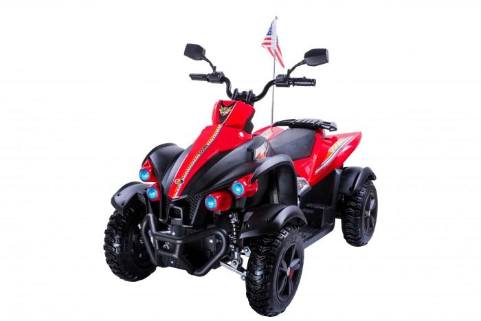 Электромобиль Toyland Квадроцикл 268 ВЭлектромобили<br>Электромобиль Toyland Квадроцикл 268В - этот стильный квадроцикл сможет стать верным другом вашего ребенка.   Предназначен для детей от 3 до 8 лет.  Особенности: большие резиновые колеса  с подкрылками, максимальная нагрузка 35 кг аккумулятор 12V/10Ah, два двигателя: 2x35W амортизаторы на передних и задних колесах для плавности хода                                                                                                                                                                                                                                      максимальная скорость 7 км/ч, скорость вперед, одна скорость движения назад заводится с ключа нет пульта ДУ пластиковое сиденье, без ремней безопасности музыкальные эффекты на корпусе (кнопка клаксона и проигрывания мелодий) разъем для подключения MP3, вход для карты SD, вход для USB и мини USB, FM - радиоприёмник светодиодные огни фар, свет фонарей. Размеры электромобиля (длина-ширина-высота): 116 х 64 х 80 см. Вес: 25 кг Размеры в упаковке (длина-ширина-высота): 113 х 64 х 46 см. Вес: 30 кг. Объем: 0.33 м3  В комплекте: аккумулятор, зарядное устройство  Гарантия от производителя: 12 месяцев.
