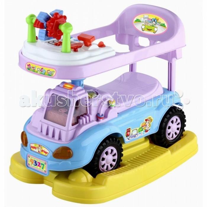 Каталка Toysmax JUMBO 3 в 1JUMBO 3 в 1Каталка 3 в 1 Toysmax Jumbo многофункциональная игрушка, которая позволит ребенку развить координацию движений и провести время за интересной игрой, а также почувствовать себя настоящим водителем.  Характеристики:  Каталка имеет устойчивую конструкцию. Высокая спинка, за которую малыш может держаться при ходьбе. Вместительный багажник под сиденьем. Свето-музыкальные эффекты. Легкое движение вперед и назад. Вместительный багажник под сиденьем. На руле кнопка звукового сигнала-пищалки. Колеса с поворотом на 90 градусов. Размер: 60&#215;36&#215;56 см  Вес: 5 кг  Возраст: от 3 до 6 лет<br>