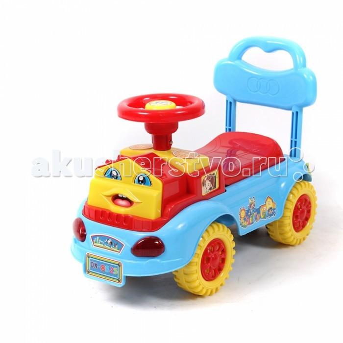 Каталка Toysmax Паровозик 8825Паровозик 8825Каталка Toysmax Паровозик многофункциональная игрушка, которая позволит ребенку развить координацию движений и провести время за интересной игрой, а также почувствовать себя настоящим водителем.  Характеристики:  Каталка имеет устойчивую конструкцию. Высокая спинка, за которую малыш может держаться при ходьбе. Свето-музыкальные эффекты. Колеса с поворотом на 90 градусов. Движение вперед и назад.  Размер: 56.5&#215;26.5&#215;41.5 см  Вес: 0,80 кг  Возраст: от 3 года до 6 лет<br>