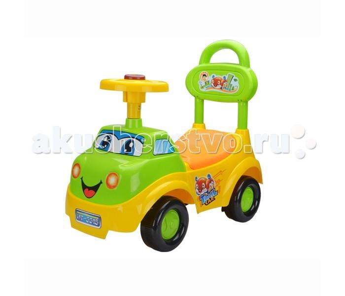 Каталка Toysmax Веселый грузовичокВеселый грузовичокКаталка Toysmax Веселый грузовичок многофункциональная игрушка, которая позволит ребенку развить координацию движений и провести время за интересной игрой, а также почувствовать себя настоящим водителем.  Характеристики:  Подходит для использования дома и на улице. Каталка имеет устойчивую конструкцию. Широкие колеса. Поворот передних колес управляется рулем. Сзади имеется высокая спинка, за которую малыш может держаться при ходьбе или взрослый переносить машинку. Под сидением вместительный багажник. На руле кнопка звукового сигнала. Каталка стимулирует малышей к активным движениям и развитию.  В процессе игры развивается общая моторика, умение управлять своим телом.  Размер каталки: 61х26х42 см.  Высота сидения от пола: 25 см.  Рекомендована для детей от 1,5 лет до 5 лет (максимальная нагрузка до 27 кг.).  Вес: 3.5 кг.<br>
