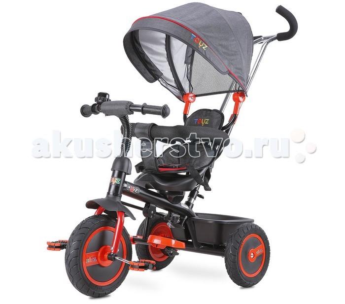 Велосипед трехколесный Toyz BuzzBuzzВелосипед трехколесный Toyz Buzz. Мультифункциональный  трехколесный велосипед.  Во время взросления ребенка, некоторые элементы, как держащийся  капюшон, спинка или борт безопасности больше не будут необходимы и могут быть легко удалены.  В комфортность входит:  зонтик и дополнительная корзина.    Резиновые колеса заполненные упругой пеной, позволит длительное время пользоваться без повреждений. Долговечный металлический каркас и высококачественные материалы вынесут много лет большой забавы вашего ребенка. Гарантия безопасности – велосипед прошёл весь тест соответствующий Европейским Стандартам.  Для детей в возрасте от 18 месяцев до 5 лет. Выдерживает нагрузку до 25 кг.   Размеры колес: переднее колесо 24 см, задние колеса 20 см диаметра.<br>