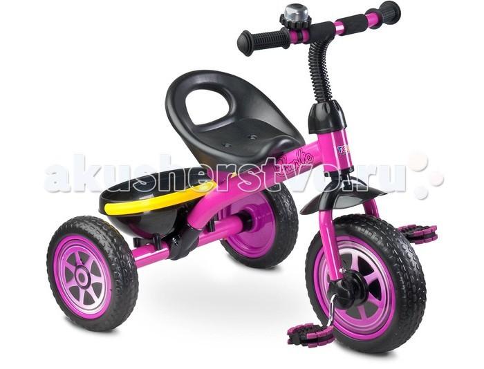 Велосипед трехколесный Toyz Charlie CareteroCharlie CareteroToyz Велосипед Charlie Caretero - этот детский трехколесный велосипед – новинка 2016 года, прекрасно подойдет на роль первого велосипеда. У него яркий современный дизайн, который произведет впечатление, как на вашего ребенка, так и на окружающих. Велосипед имеет устойчивую  безопасную конструкцию, он легкий и компактный. Прослужит много лет, благодаря высококачественным материалам, используемых при изготовлении велосипеда. Велосипед имеет все необходимые европейские сертификаты.  Особенности: предназначен для детей от 2 до 5 лет максимальная нагрузка – 25 кг легкая и прочная рама комфортное сиденье колеса из вспененной резины переднее колесо диаметром 25 см задние колеса диаметром 21 см звоночек на руле удобная корзинка Размеры: 68 x 59 x 61 см<br>