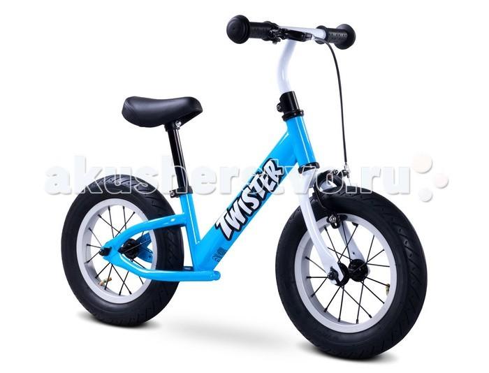 Беговел Toyz TwisterTwisterToyz Беговел Twister был создан под впечатлением от классических велосипедов: легкая металлическая рама, ручные тормоза и резиновые надувные колеса - вот основные черты беговела Twister. Каждый маленький пользователь беговела сможет почувствовать себя настоящим гонщиком. Комфортная езда даже по бездорожью - широкие надувные колеса преодолеют любые неровности и обеспечивают отличную амортизацию, безопасная и легкая посадка благодаря низко расположенной раме, динамичный внешний вид, который побуждает ребенка к активному времяпрепровождению. Оснащён  мощным, но легким  в использовании ручным тормозом, сиденье регулируется по высоте, долговечность обеспечит крепкая металлическая рама и высококачественные материалы использованные в производстве.  Особенности: беговел прошел все испытания необходимые по стандартам ЕС   понятная инструкция  легкая сборка - вы соберете беговел очень быстро металлический беговел Twister предназначен для детей в возрасте от 2 до 6 лет максимальная нагрузка: 50 кг колеса: 12 дюймовые надувные колеса, ширина шины 5,5 см Размеры: ширина: 11 см, длина: 17 см, высота: 37,5-47 см<br>