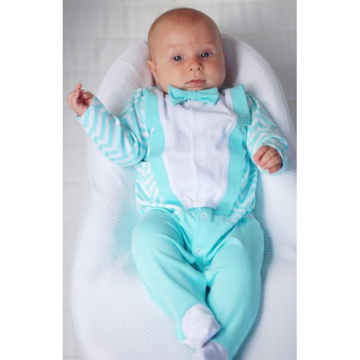 Детская одежда , Комбинезоны и полукомбинезоны Trendyco kids Комбинезон-пиджак зигзаги арт: 372933 -  Комбинезоны и полукомбинезоны
