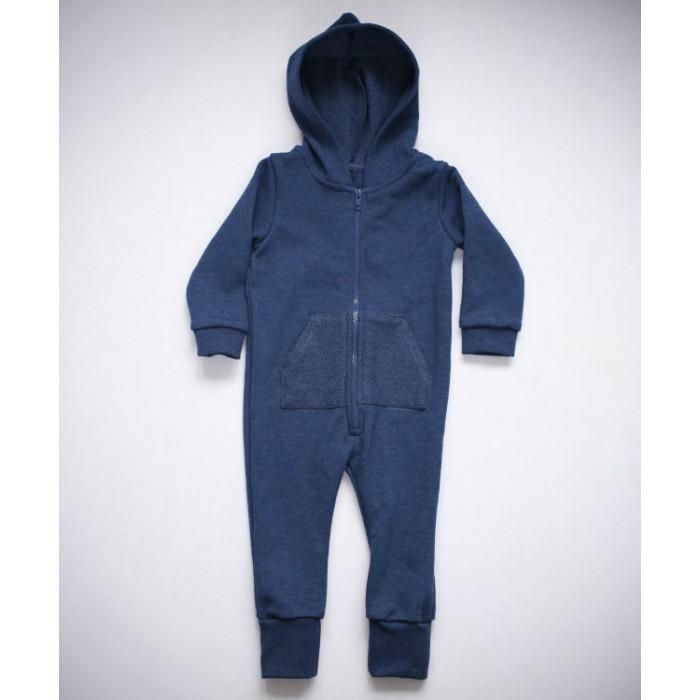 Детская одежда , Комбинезоны и полукомбинезоны Trendyco kids Комбинезон теплый с капюшоном арт: 375654 -  Комбинезоны и полукомбинезоны