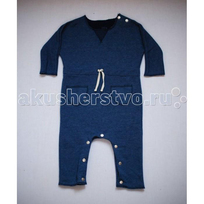 Детская одежда , Комбинезоны и полукомбинезоны Trendyco kids Комбинезон теплый с карманами арт: 376349 -  Комбинезоны и полукомбинезоны