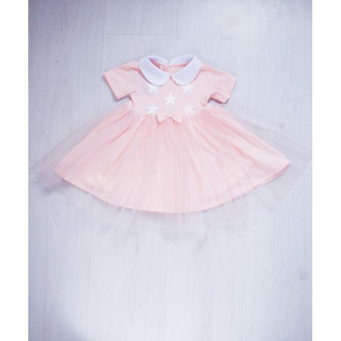 Детская одежда , Детские платья и сарафаны Trendyco kids Платье со звездами арт: 443404 -  Детские платья и сарафаны