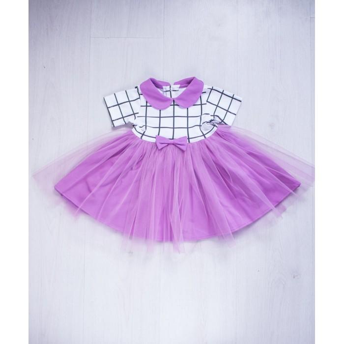 Детская одежда , Детские платья и сарафаны Trendyco kids Платье в клетку арт: 443419 -  Детские платья и сарафаны