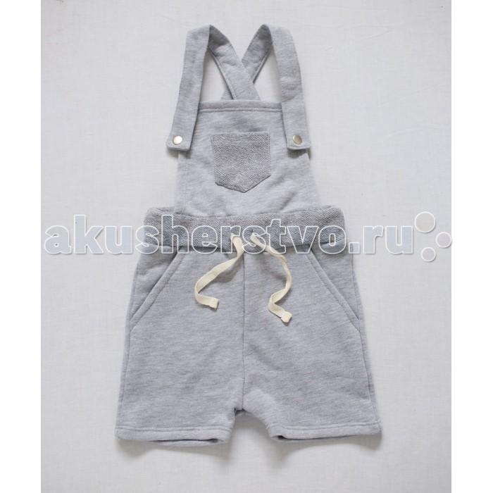 Детская одежда , Комбинезоны и полукомбинезоны Trendyco kids Шорты-комбинезон из футера арт: 376374 -  Комбинезоны и полукомбинезоны