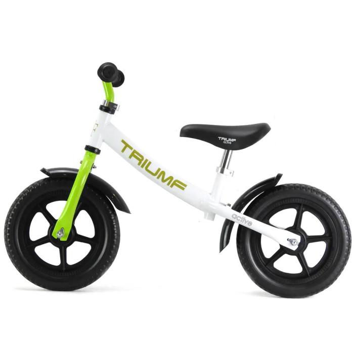 Беговел Triumf Active AKB-1289Беговелы<br>Triumf Active Беговел AKB-1289. Беговелы – это детские двухколесные велосипеды, у которых нет педалей. Они совмещают в себе черты велосипеда и самоката и помогают держать равновесие. Лучший способ разнообразить летнюю прогулку с ребенком.  Колеса ПВХ 12 дюймов. Прорезиненные ручки. Максимальная нагрузка до 35 кг. Регулируемая высота руля от 55 до 65 см от пола. Регулировка сиденья : от 38 до 53 см. от пола. Длина, ширина и высота беговела: 85х41х65 см Масса брутто и нетто: 3,7/2,8 кг