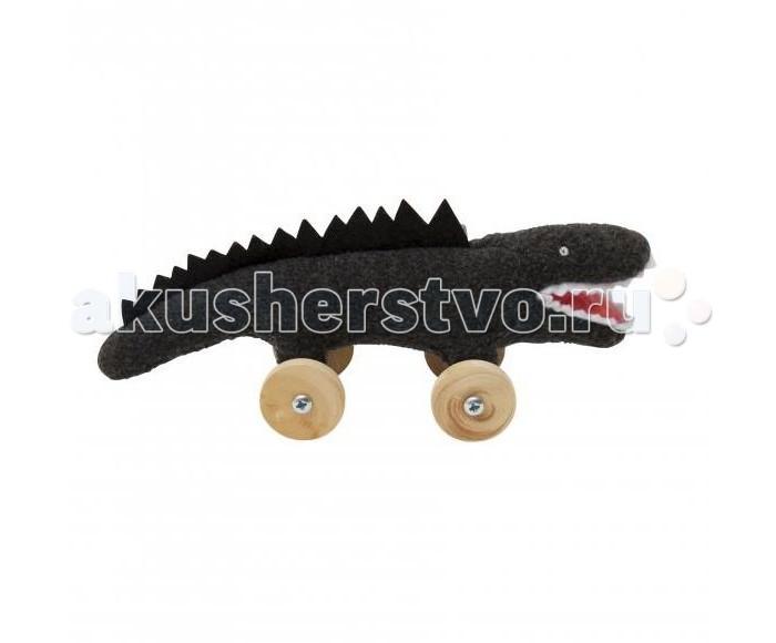 Мягкие игрушки Trousselier Крокодил на колесиках 16 см шкатулки trousselier музыкальная шкатулка 1 отделение fairy parma