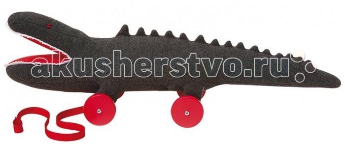 Каталки-игрушки Trousselier Крокодил на колесиках 40 см, Каталки-игрушки - артикул:31130