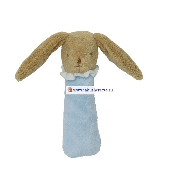 Погремушки Trousselier пищалка Зайка 17 см подвесные игрушки trousselier облачко и ангел музыкальная