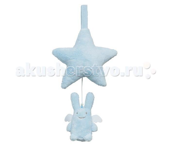 Подвесные игрушки Trousselier Зайка с крылышками со звездочкой музыкальный trousselier музыкальная мини шарманка elmer© trousselier