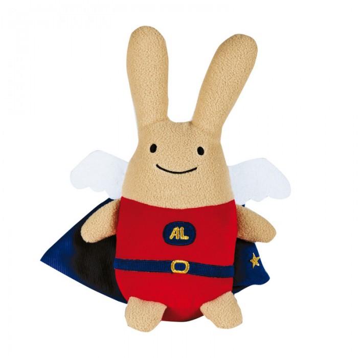 trousselier мягкая озвученная игрушка зайка цвет фуксия 25 см Мягкие игрушки Trousselier Зайка с крылышками в одежде 26 см