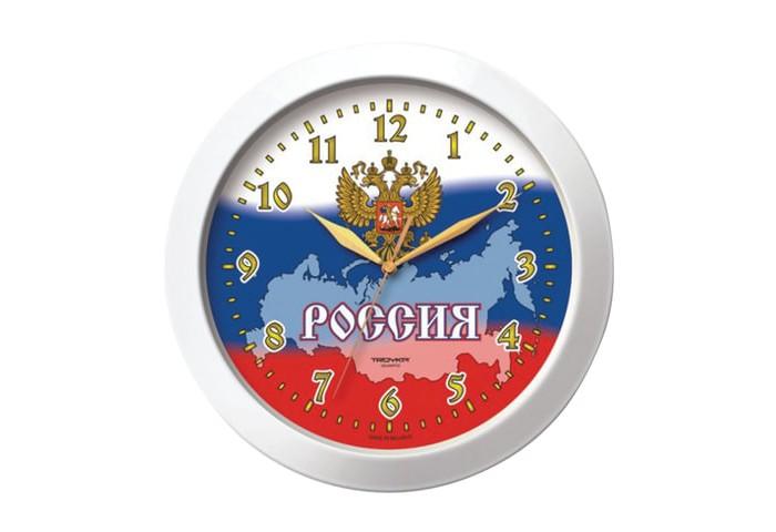 Часы Troyka настенные с рисунком Россия цена 2017