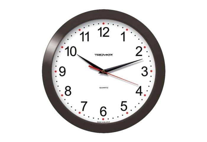 Часы Troyka настенные круглые 11100112 цена 2017
