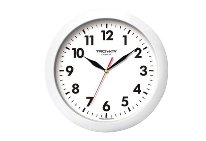 Часы Troyka настенные круглые 11110118 цена 2017