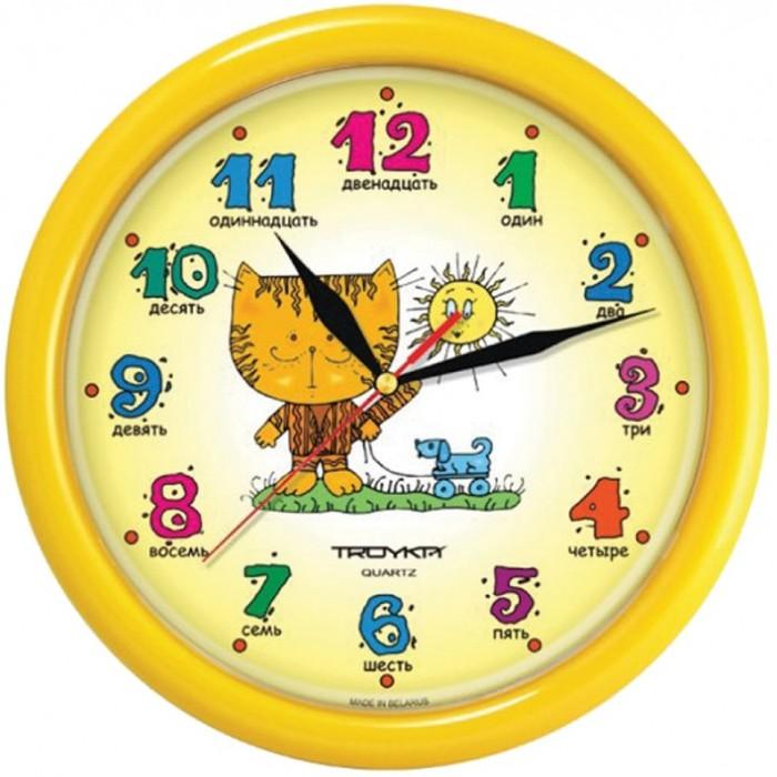Часы Troyka настенные Котенок цена 2017