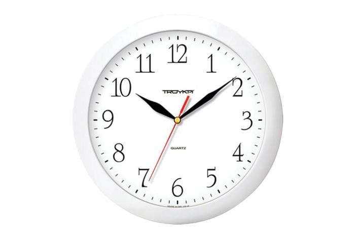 Часы Troyka настенные круглые 11110113 цена 2017