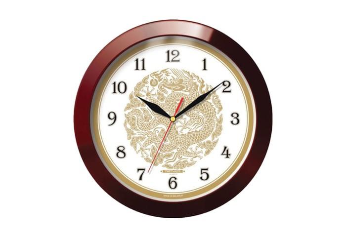 Часы Troyka настенные с рисунком Золотой дракон цена 2017