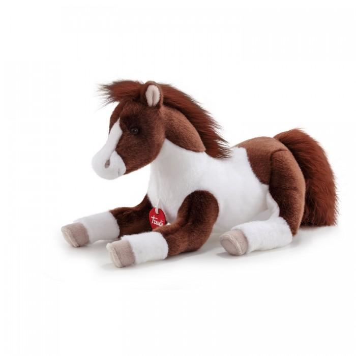 Купить Мягкие игрушки, Мягкая игрушка Trudi Лошадка Пьерре 29x25x52 см