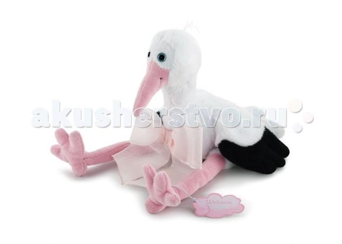 Мягкие игрушки Trudi Аист 24 см мягкие игрушки trudi белый тюлень 58 см