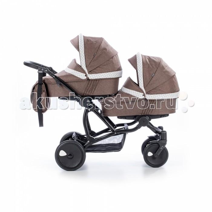 Детские коляски , Коляски для двойни и погодок Tutis Коляска Terra для двойни 2 в 1 арт: 341685 -  Коляски для двойни и погодок