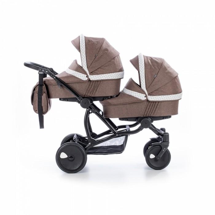 Детские коляски , Коляски для двойни и погодок Tutis Коляска Terra для двойни 3 в 1 арт: 341835 -  Коляски для двойни и погодок