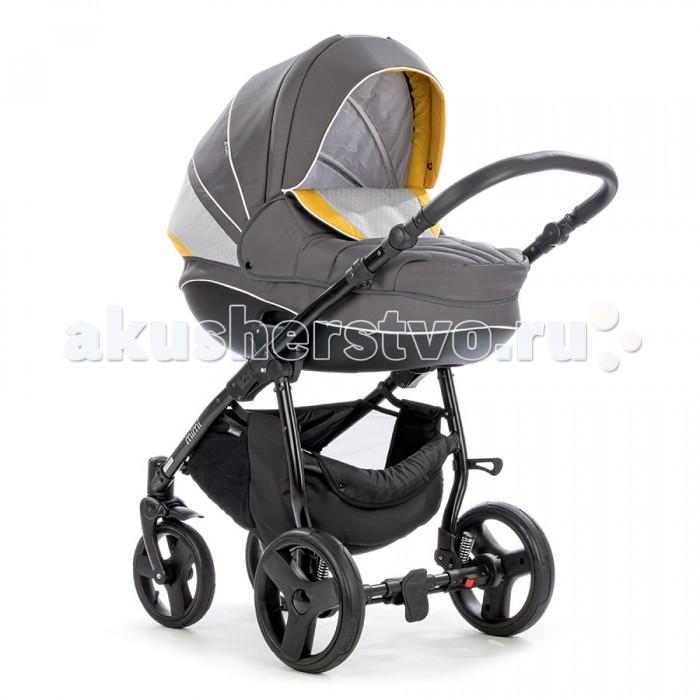 Коляска Tutis Zippy Mimi Plus 3 в 1Zippy Mimi Plus 3 в 1Детская коляска Tutis Zippy Mimi 3 в 1  Детская коляска 3 в 1 Tutis Zippy Mimi — универсальная и простая коляска для прогулок и длительных путешествий.  Подходит для любого времени года и для любых дорог.   Коляска- это первая вещь, которую малыш начинает изучать и исследовать. Это как большая игрушка, в которой он живет. Все поверхности и все материалы, до которых может дотронуться малыш, натуральны и безопасны. Для их изготовления используется специально сотканная прочная, но нежная хлопчатобумажная ткань.  Особенности: Универсальная коляска 3 в 1 — люлька + прогулочный блок + автокресло; Максимальный возраст ребенка: 3 года; Обновленный дизайн. Обработка тканей по технологии Silver Plus (с ионами серебра) — дополнительная защита ребенка от микробов и аллергенов.  Шасси: Легкая и прочная алюминиевая рама; Складывается в считанные секунды; В сложенном виде коляска очень компактна и занимает мало места; Кожаная ручка регулируемая по высоте. Механизм складывания — книжка; Ножной тормоз.  Прогулочный блок: Складывается вместе с шасси; Может фиксироваться как по ходу, так и против движения коляски; 5-ти точечные ремни безопасности; 4 угла наклона спинки до горизонтального положения; Съемный хлопковый матрасик; Панорамное окошко в капюшоне (его можно открыть); Капюшон опускается до бампера; Бампер имеет разделитель для ног и обтянут тканью; Максимальный вес ребенка: 15 кг.  Люлька: Для детей до 6–8 месяцев Изготовлена из пластика Вентиляционные отверстия в нижней части Функция качания (когда лежит на полу) Матрасик из гипоаллергенного кокосового волокна Регулируемый подголовник Регулируемый капюшон с козырьком Легко снимается с шасси Накидка на люльку Наружная ткань с водо- и грязеотталкивающим покрытием Съемные текстильные детали можно стирать при температуре 30° Ручка для удобного переноса.  Автокресло: Для детей в возрасте до 1 года весом до 13 кг Установка на шасси с помощью адаптеров Установка в автомобиле с п