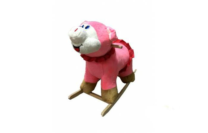 Качалки-игрушки Тутси мягкая Свинка девочка